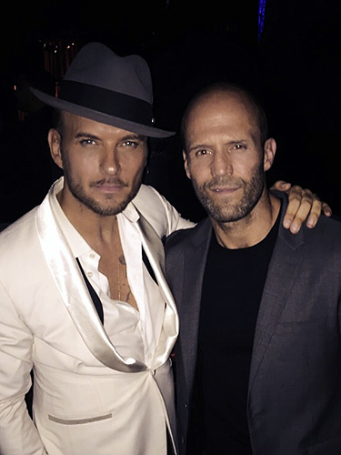 Matt Goss and Jason Statham at Matt Goss Show in Las Vegas - 9.19