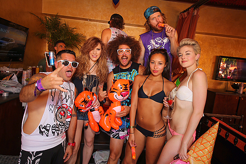 Redfoo at TAO Beach TAO Ten Year Weekend