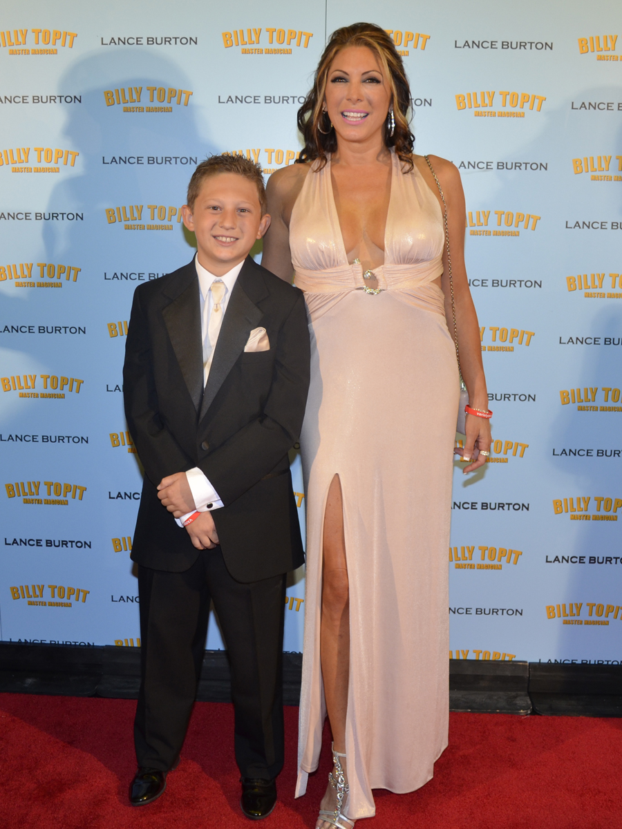 Joelle Righetti and son Billy Topit 72798