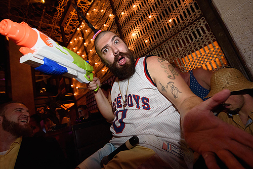 The Fat Jew at LAVO Brunch 1