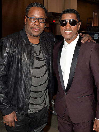 Bobby Brown Kenny Babyface Edmonds