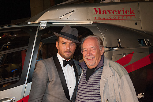 Matt Goss and Robin Leach