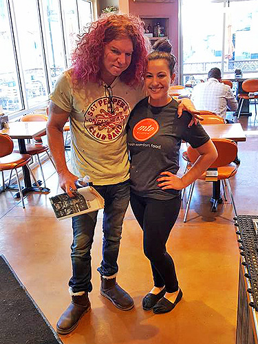 Carrot Top at MTO Cafe