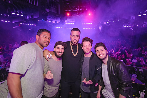 French Montana and Cash Cash at Marquee