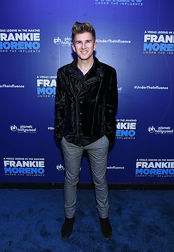 Alexander Zeilon of FRANKIE MORENO - UNDER THE INFLUENCE at Opening Night of FRANKIE MORENO - UNDER THE INFLUENCE at Planet Hollywood Resort and Casino 5.4