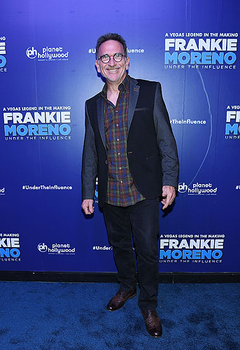 Chef Rick Moonen at Opening Night of FRANKIE MORENO - UNDER THE INFLUENCE at Planet Hollywood Resort and Casino 5.4.16 Credit Denise Truscello
