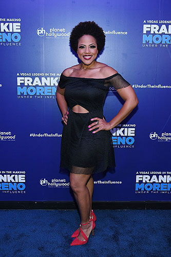 Crystal Robinson of FRANKIE MORENO - UNDER THE INFLUENCE at Opening Night of FRANKIE MORENO - UNDER THE INFLUENCE at Planet Hollywood Resort and Casino 5.4