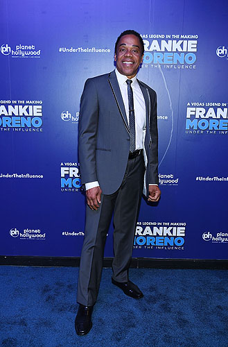 Earl Turner at Opening Night of FRANKIE MORENO - UNDER THE INFLUENCE at Planet Hollywood Resort and Casino 5.4.16 Credit Denise Truscello