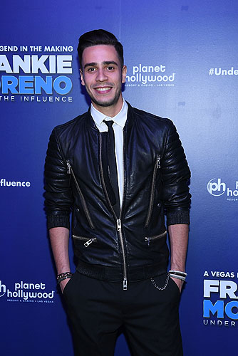 Fabricio Bezerra of FRANKIE MORENO - UNDER THE INFLUENCE at Opening Night of FRANKIE MORENO - UNDER THE INFLUENCE at Planet Hollywood Resort and Casino 5.4