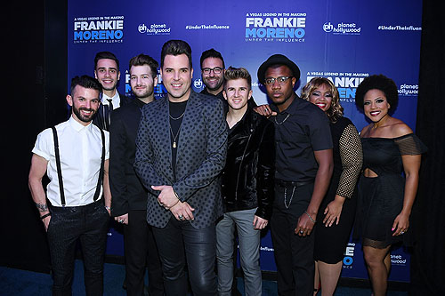 Frankie Moreno and Band at Opening Night of FRANKIE MORENO - UNDER THE INFLUENCE at Planet Hollywood Resort and Casino 5.4.16 Credit Denise Truscello