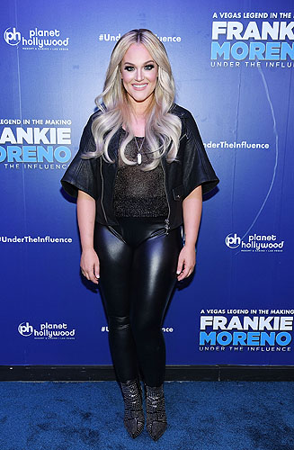 Lacey Schwimmer at Opening Night of FRANKIE MORENO - UNDER THE INFLUENCE at Planet Hollywood Resort and Casino 5.4.16 Credit Denise Truscello