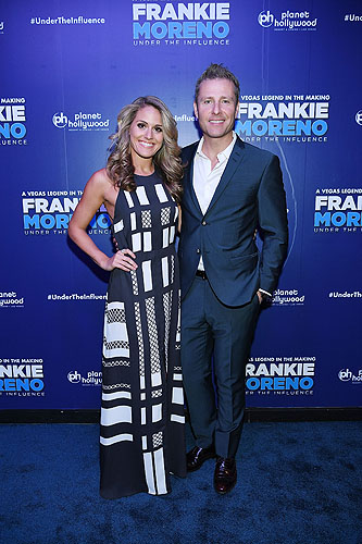 Las Vegas Headliner Paul Zerdin and Robyn Mellor at Opening Night of FRANKIE MORENO - UNDER THE INFLUENCE at Planet Hollywood Resort and Casino 5.4.16 Cred