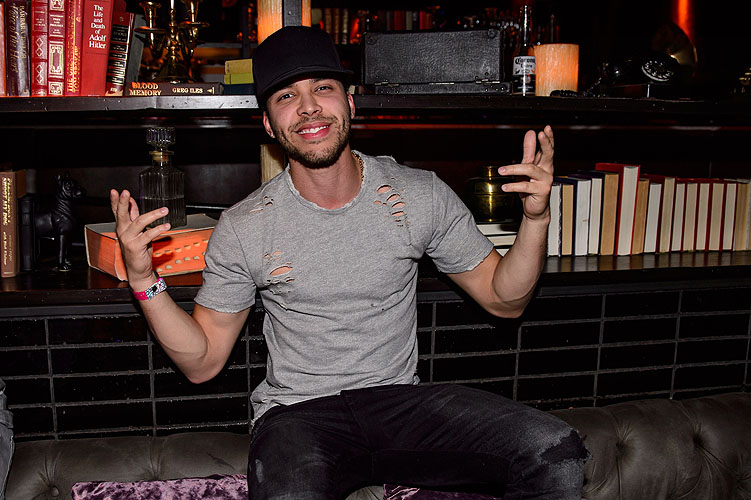 Prince Royce at LAVO Casino Club