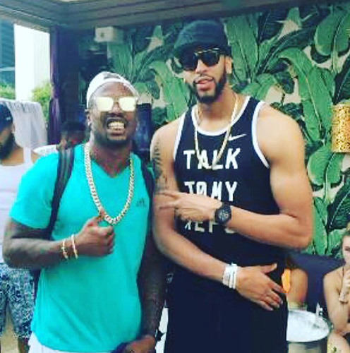 Anthony Davis at Marquee Dayclub