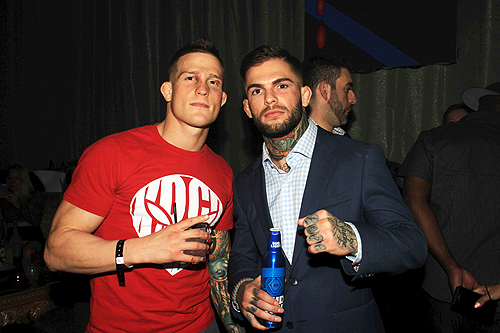 Cody No Love Garbrandt and Erik New Breed Koch at UFC 88 UFC Fight Night 88 After Party  2