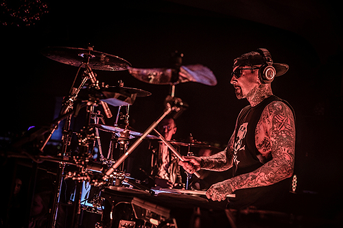 Travis Barker celebrates Memorial Day Weekend at Hyde Bellagio 5.28.16