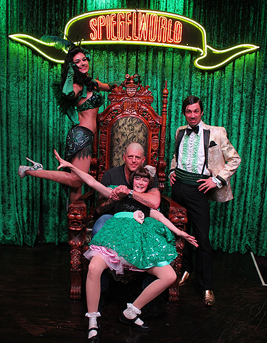 Goldust attends ABSINTHE at Caesars Palace 6.17.16 credit Joseph SandersSpiegelworld