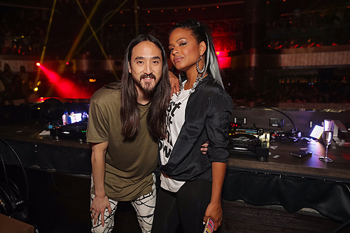 JEWEL Christina Milian and Steve Aoki Photo Credit Tony Tran 1
