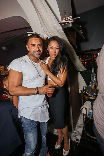 Jay Sean and Thara Prashad at Hyde Bellagio 6.25.16