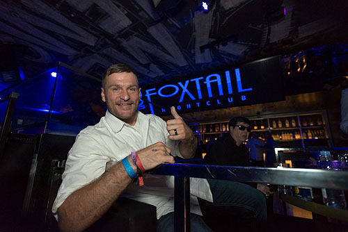 Stipe Miocic at Foxtail Nightclub at SLS Las Vegas 7.9.2016