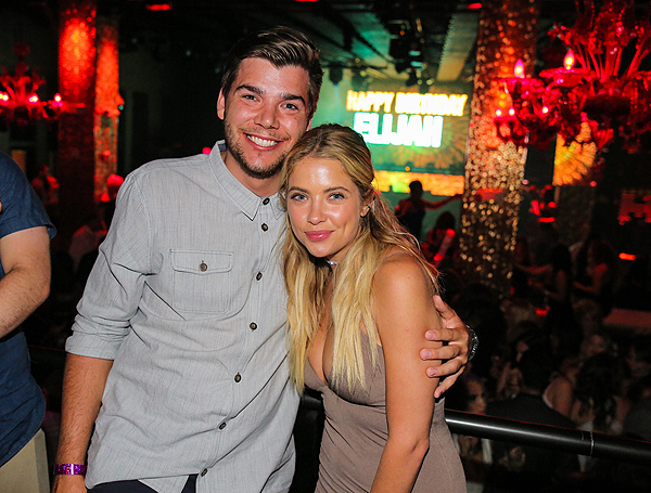 Ashley Benson and Elijah at TAO 7.23.16