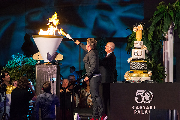 Gordon Ramsay Lights Cauldron CP50 Aug 5