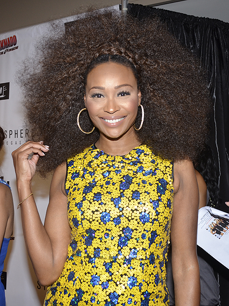 Cynthia Bailey at premiere of Sharknado The 4th Awakens 6958