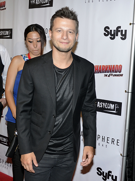 Magician Mat Franco at premiere of Sharknado The 4th Awakens 6941