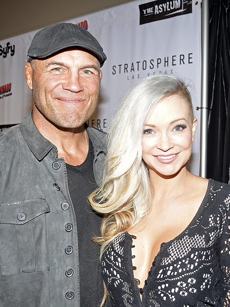 Randy Couture at premiere of Sharknado The 4th Awakens 6947