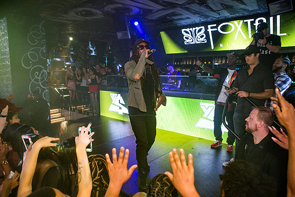 T Dolla Sign at Foxtail Nightclub at SLS Las Vegas