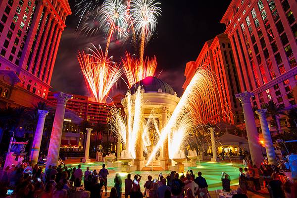 Caesars Palace Celebrates 50th Birthday