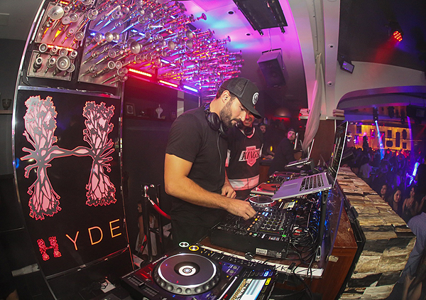 Brody Jenner Takes Over the DJ Booth at Hyde Bellagio in Las Vegas 9.3.16