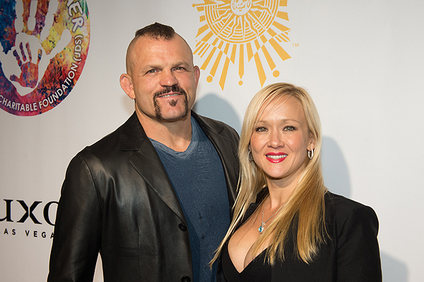 Chuck Liddell on the gold carpet at Criss Angel HELP Sept 12 2016 Tom Donoghue