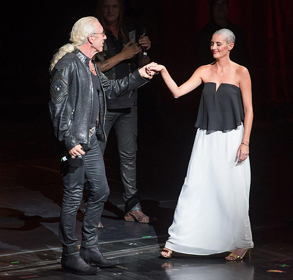 Dee Snider and Randi Heisler at Criss Angel HELP Sept 12 2016 Tom Donoghue