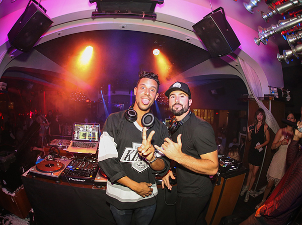 DJ Devin Lucien and Brody Jenner at Hyde Bellagio in Las Vegas 9.3.16