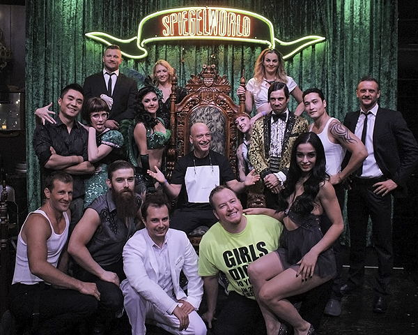 Howie Mandel Attends ABSINTHE at Caesars Palace 9.3.16 credit Joesph Sanders Spiegelworld