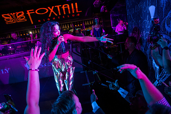 Tinashe Performs at Foxtail Over Labor Day Weekend