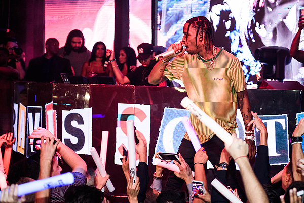Travis Scott Performs at Marquee 9.3.16 Photo Credit Al Powers