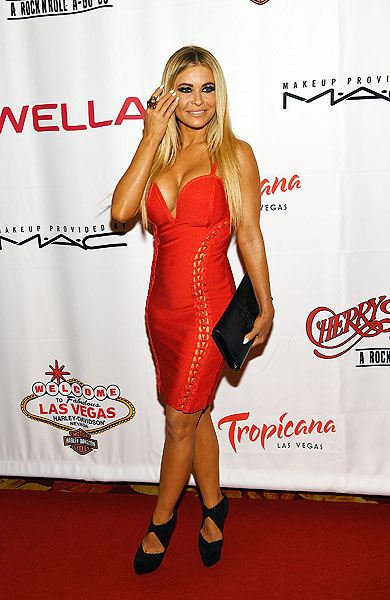 Carmen Electra Photo credit Denise Truscello Getty Images