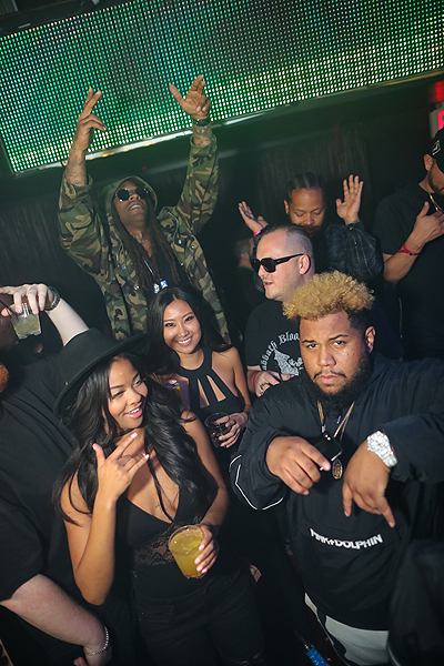 Ty Dolla Sign and Carnage at TAO 11.3.16