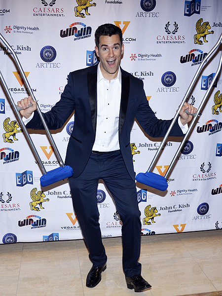Win Win Entertainment's Jeff Civillico at the 2016 Headliners Bash - Photo credit: Stephen Thorburn