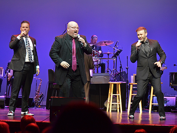 Win Win Entertainment's Las Vegas Tenors at the 2016 Headliners Bash Photo credit: Stephen Thorburn