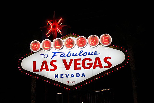 Welcome to Fabulous Las Vegas Sign - Photo courtesy of AFAN