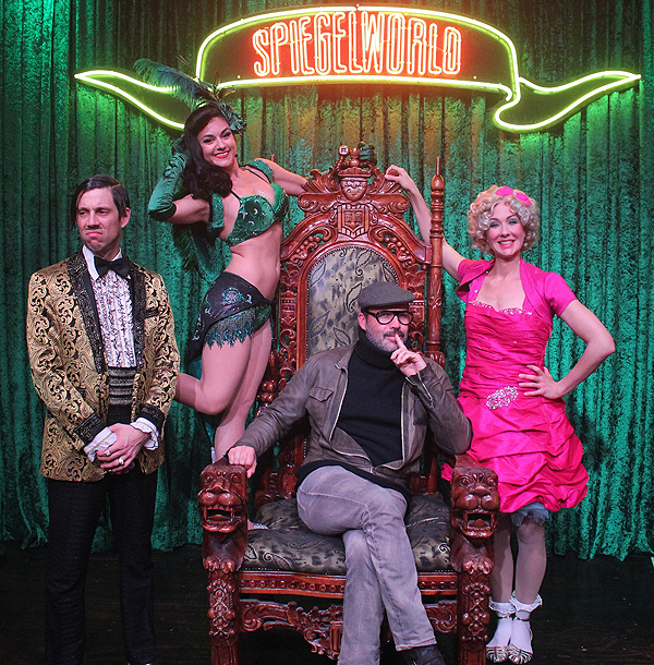 Billy Zane at ABSINTHE at Caesars Palace Jan. 8 credit Joseph SandersSpiegelworld