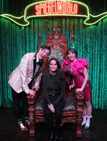 Courtney Eaton at ABSINTHE at Caesars Palace 12.28.16 credit Joseph SandersSpiegelworld