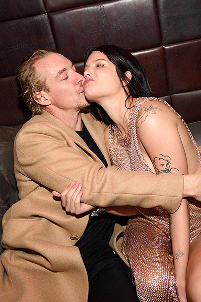 Diplo and Halsey at Sean Diddy Combs and CIROC Ultra Premium Vodka host CIROC The New Year 2017 After Party at Lavo Casino Club at The Palazzo on December 31 2016