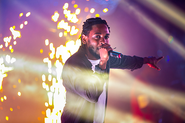 Kendrick Lamar Makes His Drais LIVE Debut at Drais Nightclub at The Cromwell in Las Vegas on New Years Eve 12.31.16 Joey Ungerer 8