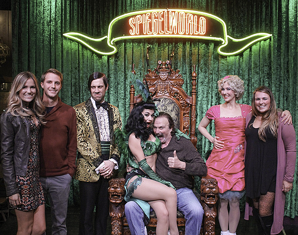 Jake the Snake at ABSINTHE at Caesars Palace 1.4.17 credit Joseph SandersSpiegelworld 1