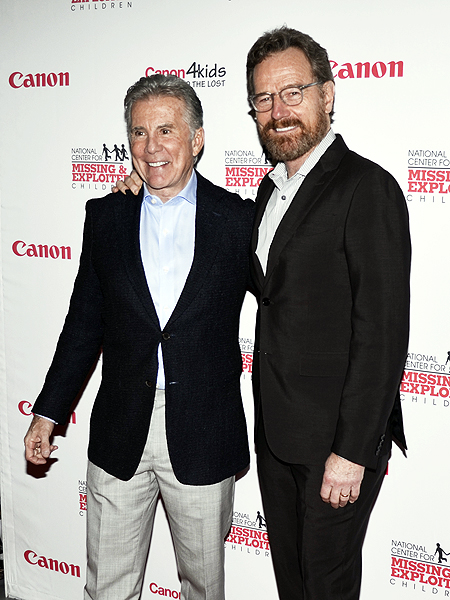 John Walsh and Bryan Cranston - Photo credit: Stephen Thorburn