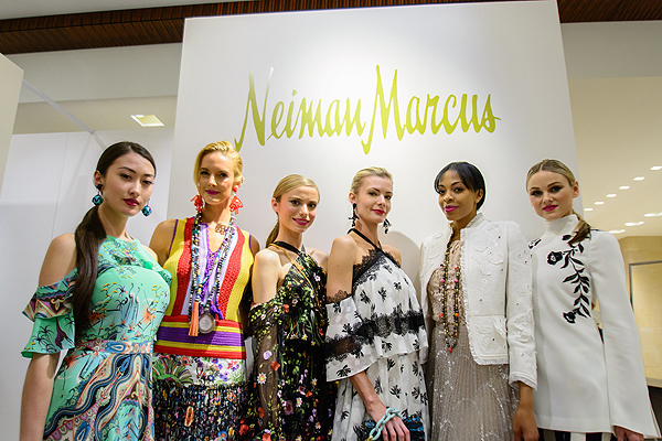 Neiman Marcus fashion show models